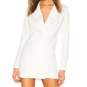 Superdown Revolve Armida Button Blazer Dress